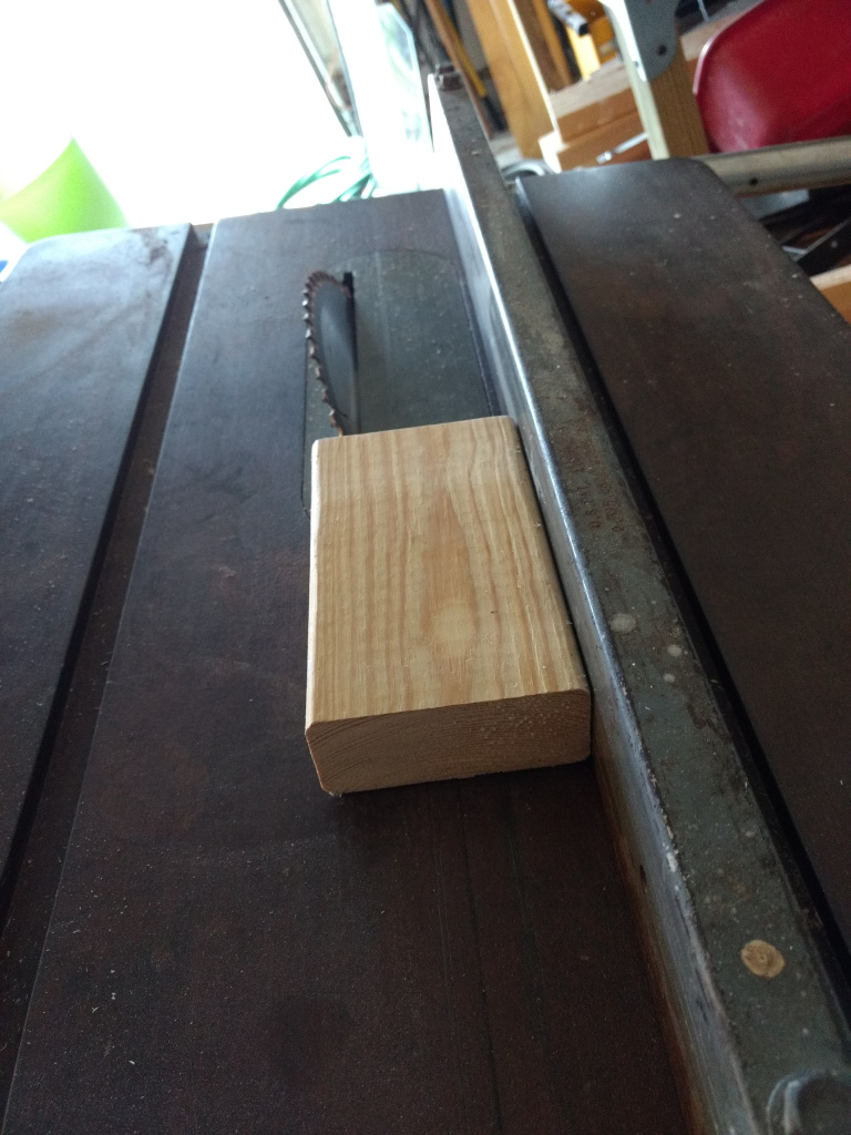 making the bookmark display stand