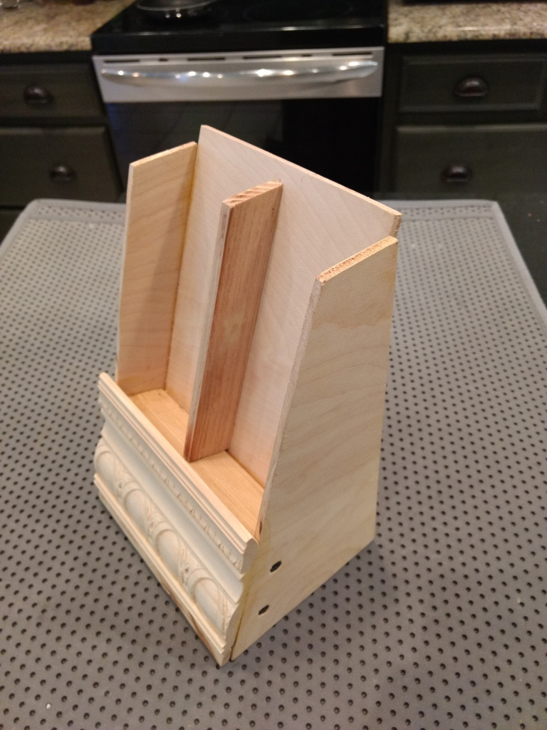 unpainted bookmark display stand
