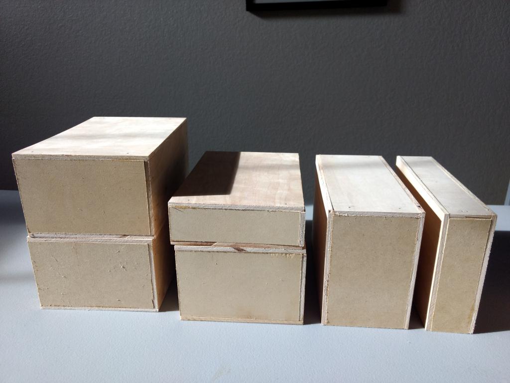 display riser blocks