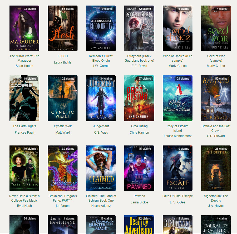 Prolific Works book list